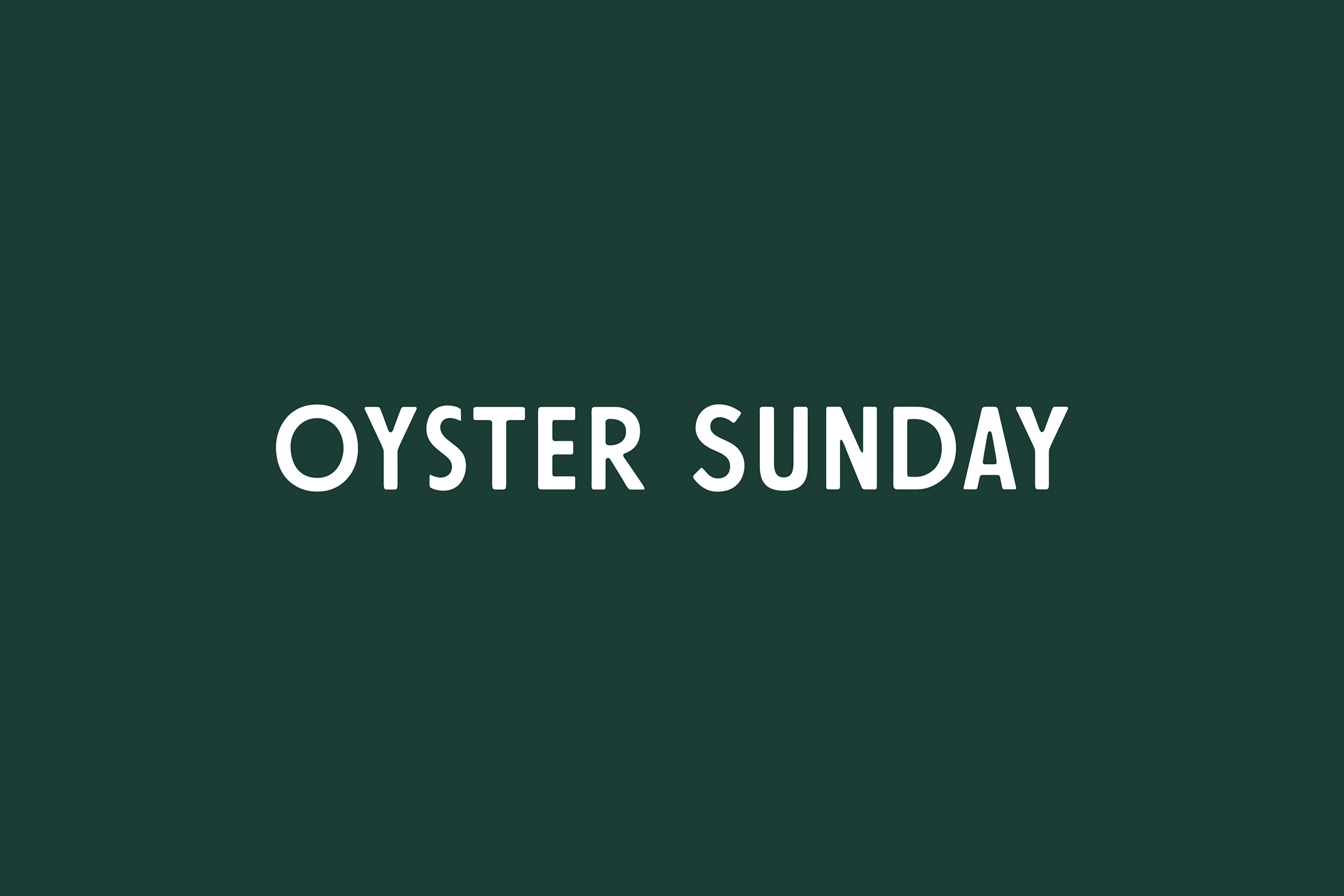PAQUETTE Oyster Sunday
